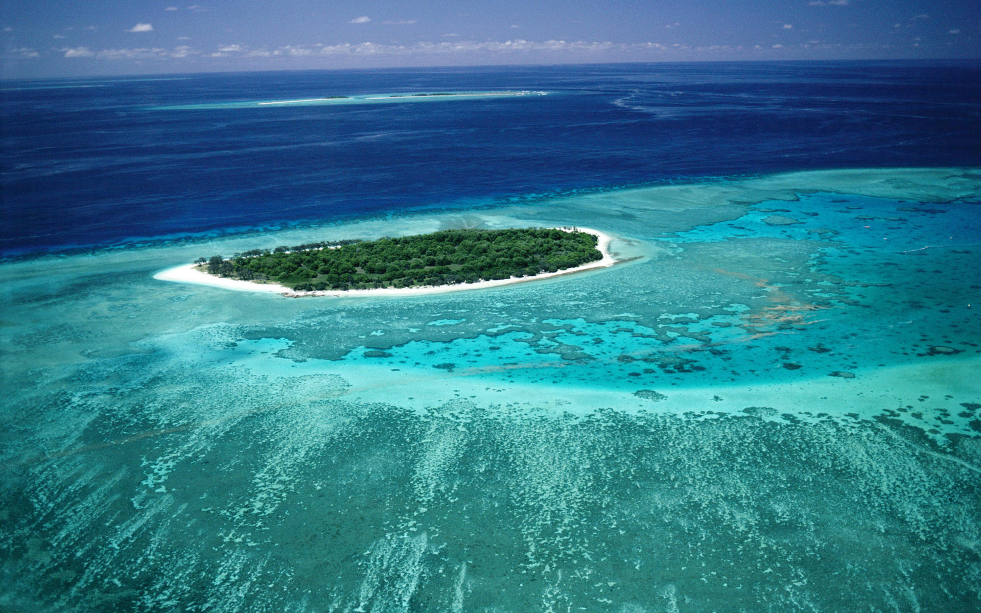 thirteen barrier islands